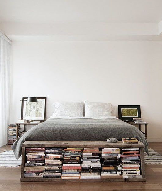 20 Hacks For Storing Books In Small Spaces