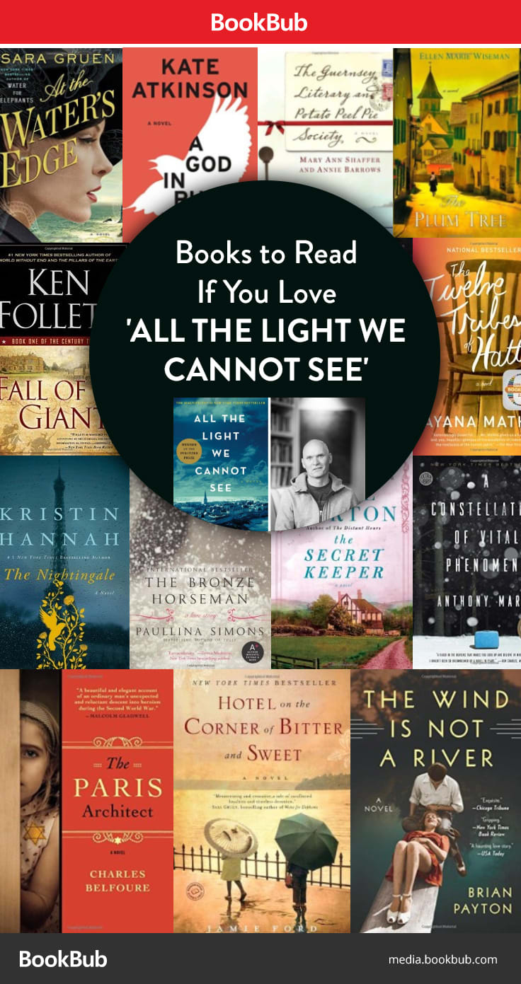 13 Books If You Love All The Light We Cannot See