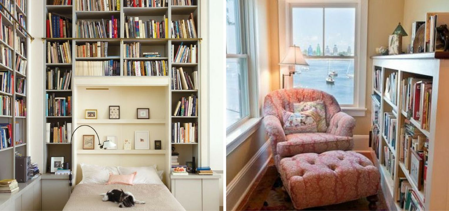 10 Small Home Libraries That Make a Big Impact
