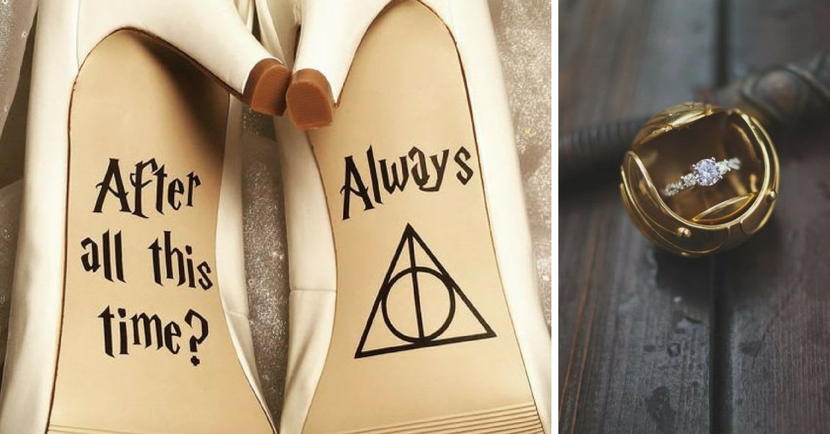 20 Magical Harry Potter Wedding Ideas