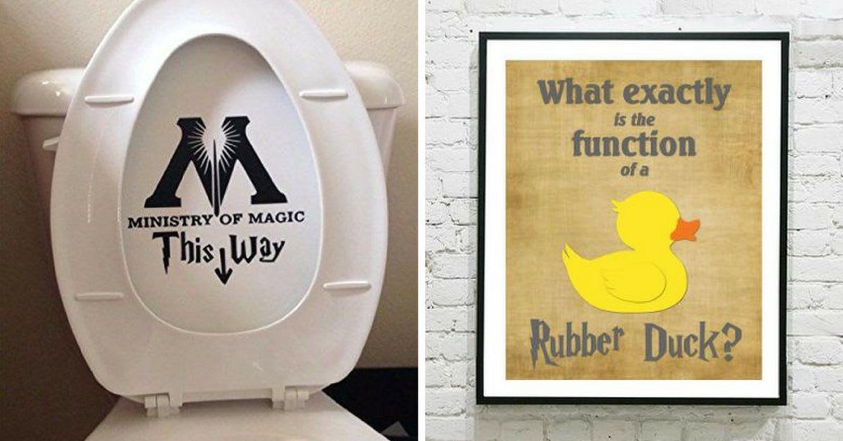 Harry Potter Bathroom Decor.14 Ingenious Harry Potter Inspired Bathrooms