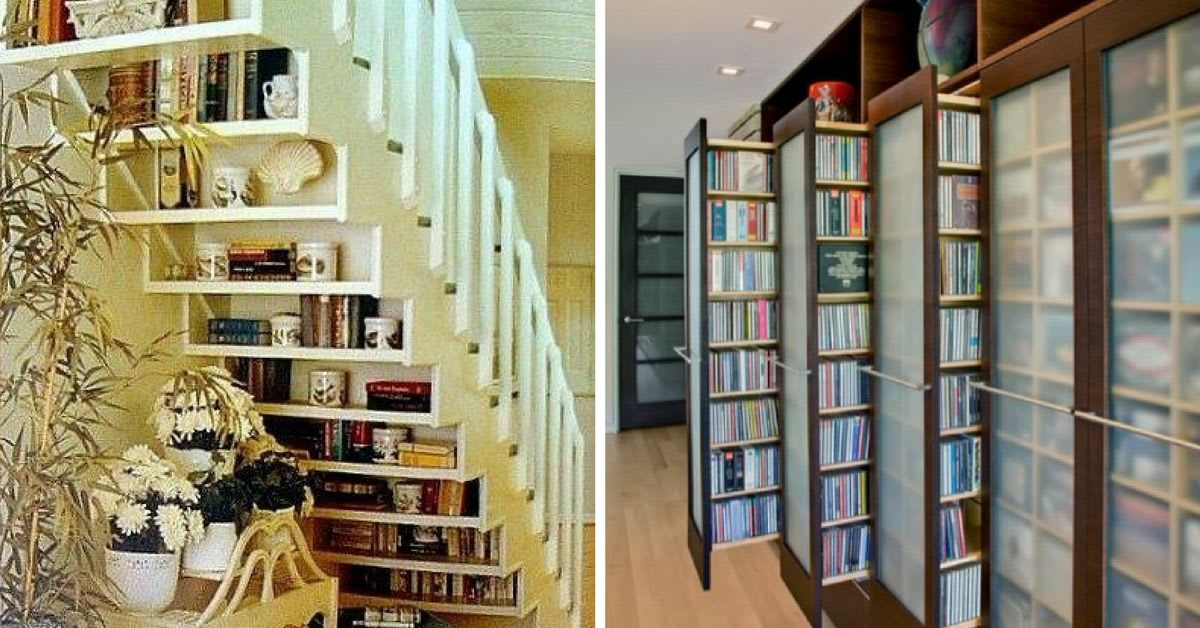 foto de 20 Hacks for Storing Books in Small Spaces